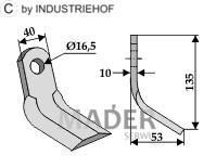 63-AED-08 Nóż Y