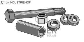 63-16115-1 Zestaw śrub do bijaka młotkowego M16x1,5