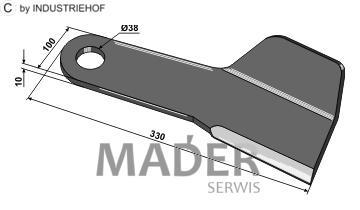 63-IND-1181-L Nóż lewy