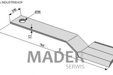 63-SPH-03-L Nóż Spearhead lewy