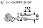 63-BOM-62 Tulejka wewnętrzna