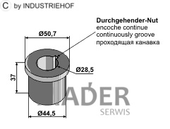 63-SCH-91 Tulejka