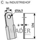 63-SIC-11 Nóż prosty
