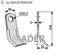 63-SIM-12 Nóż Y